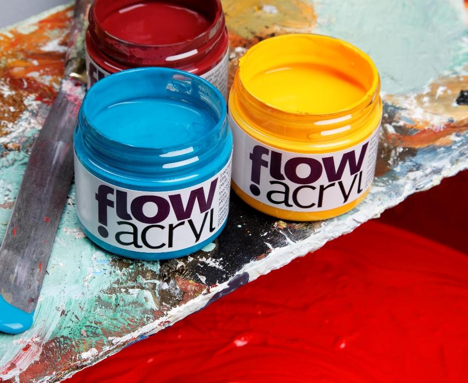 Vinyl Akrylova Barva Renesans Flow 50ml Vyberte Barvy Vytvarne