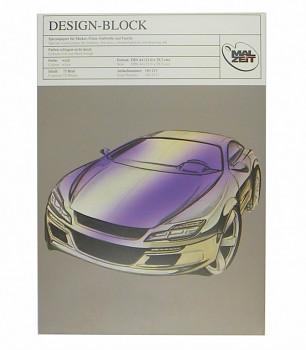 Skicák design Malzeit A4, 75 listů