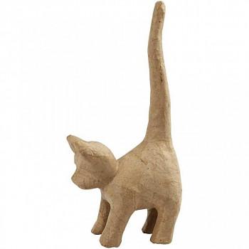 Kočka z papírové hmoty velká