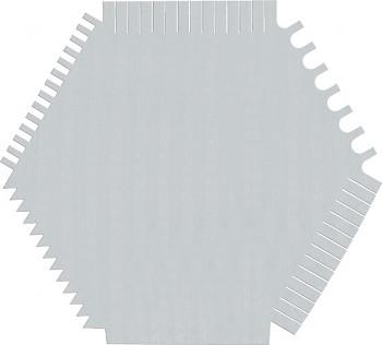 Hřeben deska ocelová 06B