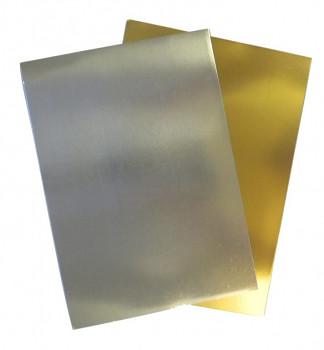 Stříbrný papír lesklý A4