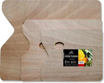 Dřevěná paleta obdélníková 20x30cm/5mm