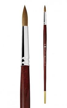 Přírodní štětec Kolinsky kulatý - 5 velikostí