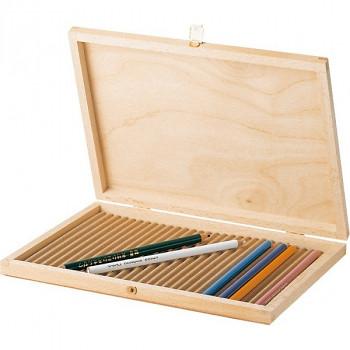 Dřevěná krabička 28x20cm