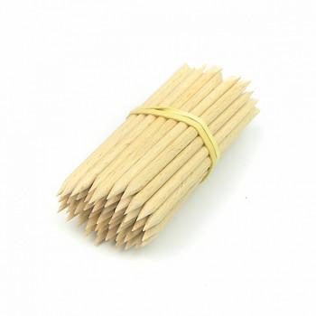 Dřevěné tyčinky ostré 85mm