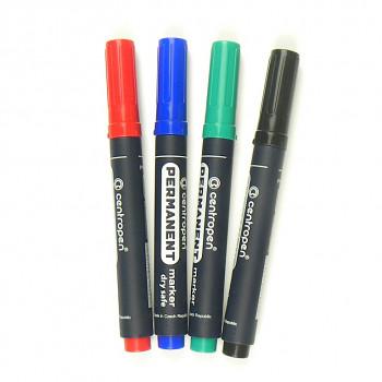 Permanentní marker široký – různé barvy