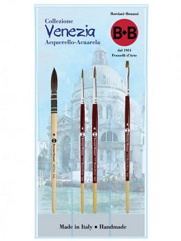 Sada štětců Venezia pro akvarel