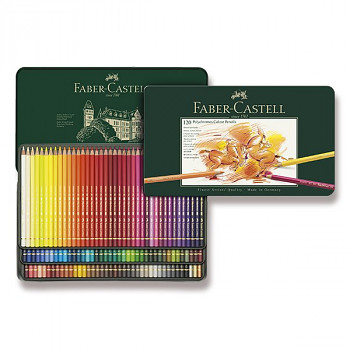Pastelky Polychromos 120ks Faber-Castell