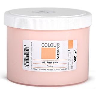 Akrylová barva Colours 500ml – 37 barev