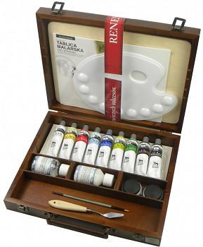 Luxusní sada akrylových barev 60ml v kufříku