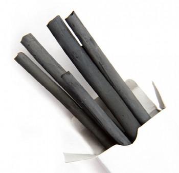Přírodní uhel 2ks 15-17mm