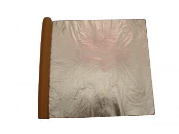 Plátkový kov - listy hliník 14x14cm (100 plátků)