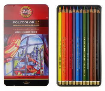 Sada pastelek Polycolor 12ks