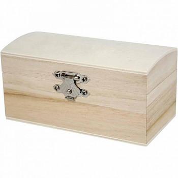 Krabička s víkem malá dřevěná