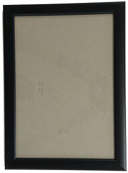 Hotový rám A4, sklo - černý
