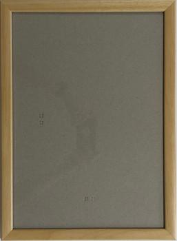 Hotový rám A4, sklo - přírodní barva