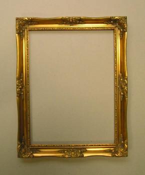 Blondelový rám zlatý  40x50cm