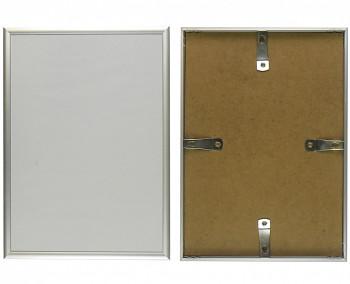 Hliníkový rám stříbrný matný 15x20cm