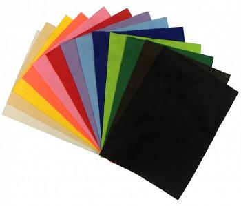 Dekorační plsť barevná 20x30cm – 20 barev