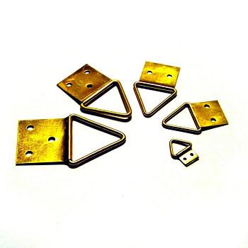 Trojuhelníkový háček 3 (střední) 6ks