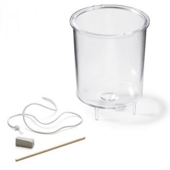 Plastová forma na odlévání svíček - válec 80x60mm