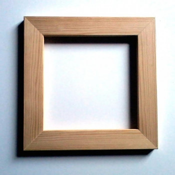 Rámeček na decoupage - dřevěný 16x32cm