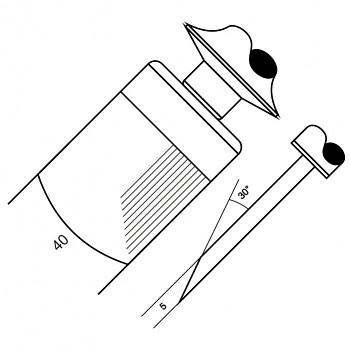 Skoblina 4006 - 16,6 drážek / cm