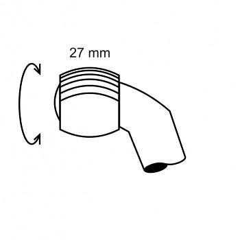 Ruleta velká 25 - čárkovaný rastr 0,2 - průměr 4mm