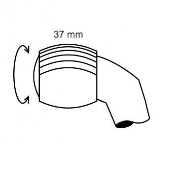 Ruleta velká 28 - čárkovaný rastr 0,2 - průměr 5mm