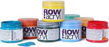 Vinyl-akrylová barva Renesans Flow 50ml – vyberte barvy