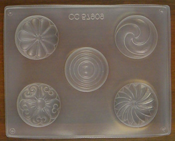 Forma na mýdlo – kulaté tvary