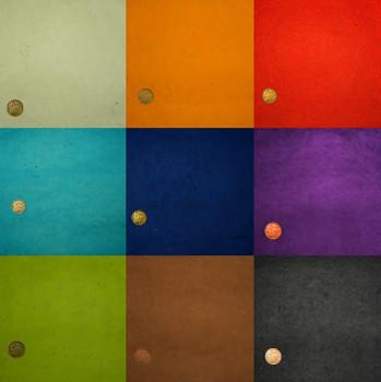 Ruční papír A4 – základní barvy